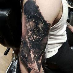 Resultado de imagen de spartan 300 tattoo sleeve