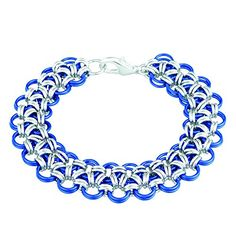 Weave Got Maille 2Color Japanese Lace Chain Maille Bracelet Kit  Royal Lace >>> Be sure to check out this awesome product.
