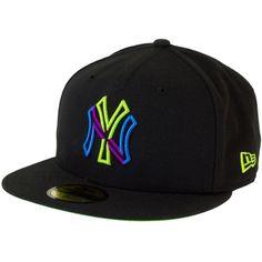 New Era Colour Junction Cap NY Yankees black/limegreen ★★★★★