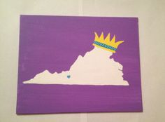 ZTA craft for Big/Little reveal that I made