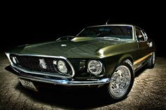 1969 Mustang. The only year with four headlights?