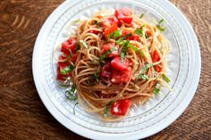 Cooks ALL in ONE PAN!! :o) ... ~Amazing Tomato Basil Pasta~