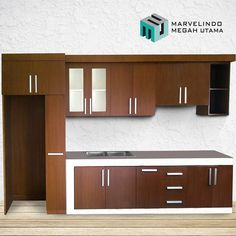 Kitchen Set  #brown #white  #playwood #melaminto #melamine #accesoriesstainless #finishingmelamic  M2U GROUP - Home Living (Contractor Modern Furniture & Interior)  address: Komplek Kedamaian Permai Jalan Badak II Blok F No.17 Palembang Sumatera Selatan Indonesia  Follow M2U official media: Instagram: @m2u.homeliving Facebook: m2u.homeliving Line: cbt1868y  For info detail & order by request please contact us: Phone: 6282260189986 WA: 6282260189986 Email: group.m2u@gmail.com (only for…