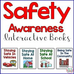 Help students understand safety rules for school, home and in the community. These interactive books have been adapted to help break the concepts down and make them more understandable. Looking to improve receptive and expressive language and attending skills?