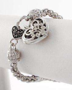 Women's Filigree Heart Bracelet $8.99