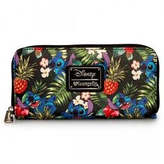 Disney Stitch Hawaiian Wallet Loungefly