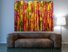 Buy Golden Landscape- Oversized statement piece!, Acrylic painting by Nestor Toro on Artfinder. Discover thousands of other original paintings, prints, sculptures and photography from independent artists.