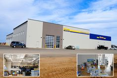 Bourassa New Holland Weyburn, SK Butler Buildings (Canada)