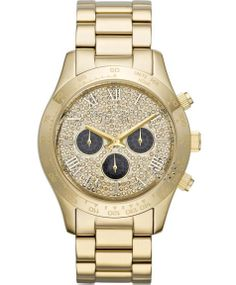 Michael KORS Layton Chrono Gold Stainless Steel Bracelet Η τιμή μας: 364€ http://www.oroloi.gr/product_info.php?products_id=37172