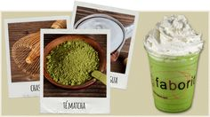 Te matcha from food blog