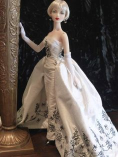 JAMIEshow Gene Marshall ~ in MA Sabrina gown ~ Image and styling by Vera S ~ The Studio Commissary/kw