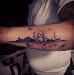 "Beautiful tattoo ""istanbul"""