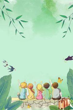 lively,lovely,literary,simple,general purpose,blue,green,cartoon,fresh,summer Book Background, Cartoon Background, Background Images, Boarder Designs, Frame Border Design, Flower Backgrounds, Wallpaper Backgrounds, Powerpoint Background Design, Cartoon Wallpaper