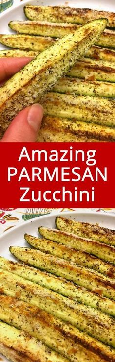 This is my favorite zucchini recipe! Can never go wrong with garlic and Parmesan! :)