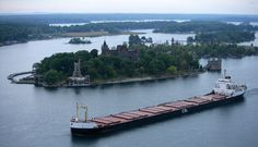 Love the St. Lawrence Seaway, it's ships & the 1000 Islands… especially Boldt Castle on Hart Island!