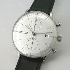 Max Bill Junghans chronograph