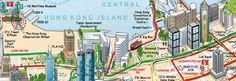Hong Kong Big Bus Map