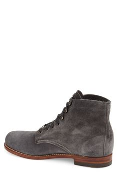 Free shipping and returns on Wolverine '1000 Mile' Plain Toe Boot (Men) at Nordstrom.com. This iconic work boot has been crafted of rugged, durable Horween® leather and built with a stacked heel and classic welt construction. These marks of quality are clear indicators of the attention to detail that went into making this boot.