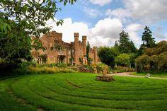 Augill Castle in Cumbria