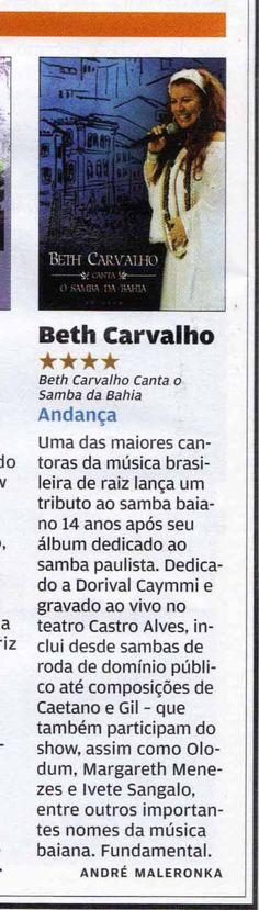 #BethCarvalho 2008 Rolling Stone