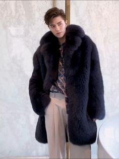 Men should own his real fur.