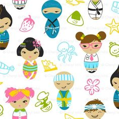 cute papercuts lo...like the harajuku kids