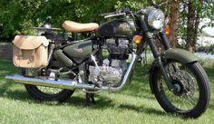 Royal Enfield Motorcycles: Royal Enfield Military honors veterans