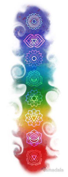 Chakra Flow Lámina artística