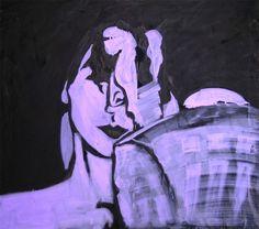 Tango-002 - 2009 acrylic on canvas - cm 90X80