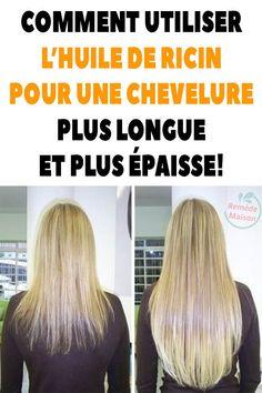Comment utiliser l'huile de ricin pour une chevelure plus longue et plus épaisse!
