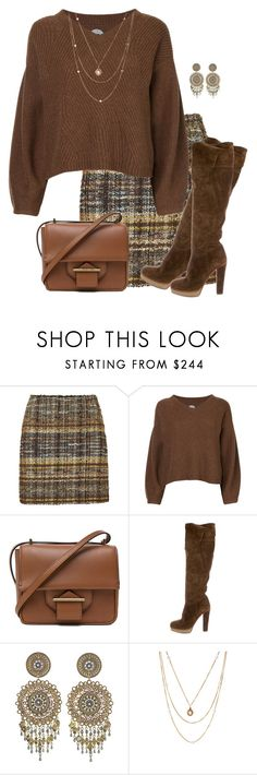 """Untitled #8558"" by daiscat ❤ liked on Polyvore featuring Blumarine, Anrealage, Reed Krakoff, Prada, Topshop and Susan Caplan Vintage"