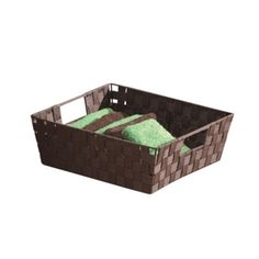 You don't have to show off all of your toiletries, use a Storage as a stylish Storage Baskets, Storage Organization, News Space, Home Hardware, Java, Back To School, Study, Indoor, Stylish