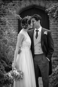 Image by Plenty To Declare - Intimate Wedding At Cote Brasserie With Bride In Self Made Dress And Groom In Tails With Images From Plenty To Declare