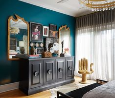 Chicago's Gracious House Showhouse Master Bedroom design by Donna Mondi Interior Design