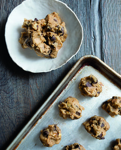 Chocolate chip cookies. Classic. Perfect. A touch salty.