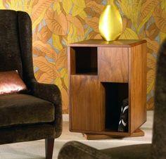 Perfect Contemporary Revolving Bookcase MELROSE La Fibule