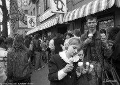 Кафе мороженое Пингвин. Москва