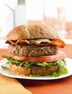 BLT Burger Healthy Recipe #BiggestLoser