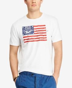 POLO RALPH LAUREN Polo Ralph Lauren Men S Custom Slim Fit Cotton T-Shirt.   a5e4df49870
