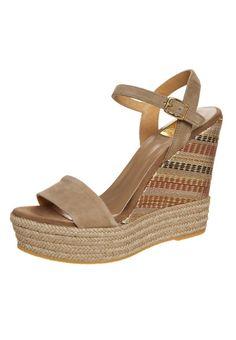 Kanna - Korolliset sandaalit - taupe