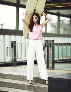 koreanmodel:  Stephanie Lee by Lee Su Jin for Ceci Korea June...