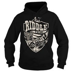 It's a RIDDLE Thing T-Shirts, Hoodies. Get It Now ==>…
