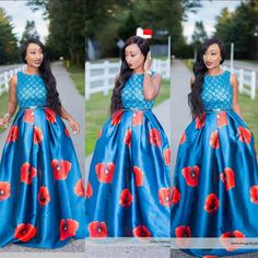Dazzle in a floor length dress this sunday | Photos
