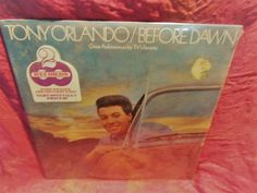 """TONY ORLANDO/BEFORE DAWN 2Vinyl Records 12"""" Epic 1975 Sealed  STEREO BG33765 #1970sSoftRock Tony Orlando, Old Vinyl Records, Pop Collection, See Picture, Dawn, Songs, Ebay, Old Records, Song Books"""