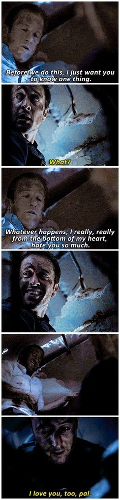 #hawaii five 0 #Steve McGarrett #Danny Williams