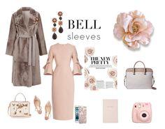 """Dinner with Boss - Fashion Retail"" by kappiblu on Polyvore featuring Roksanda, Yves Salomon, Dolce&Gabbana, Jimmy Choo, Kate Spade and Fujifilm"