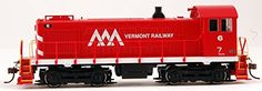 ALCO S4 Diesel Locomotive - DCC On Board - VERMONT RAILWAY #6 - HO Scale. Alco's 1000-hp S4 switcher was the fourth entry in the company's highly successful 'S' series of diesels. Their sturdy constr...