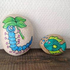 Beautiful & Unique Rock Painting Ideas , Let's Make Your Own Creativity Pebble Painting, Pebble Art, Stone Painting, Stone Crafts, Rock Crafts, Arts And Crafts, Painted Rocks Craft, Hand Painted Rocks, Rock Painting Ideas Easy