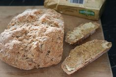 traditional soda bread and butter
