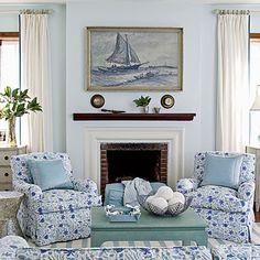 Bermuda villa sitting room | Coastalliving.com